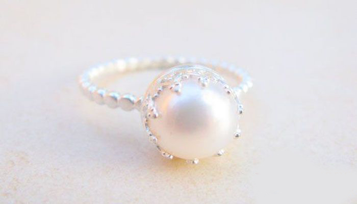 cbbabd71d Wearing Pearl Gemstone Ring - Realstone Laboratories
